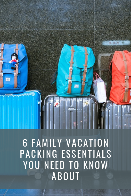 family vacation packing essentials